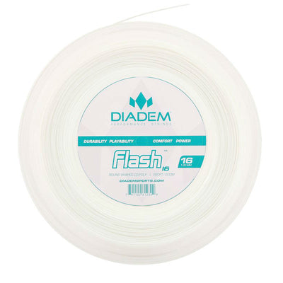 Diadem Flash 16 Tennis String Reel (White)