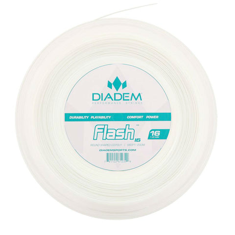 Diadem Flash 16 Tennis String Reel (White) - RacquetGuys.ca