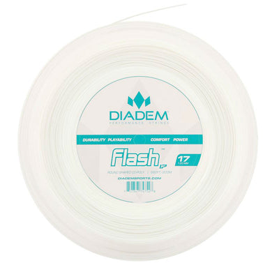 Diadem Flash 17 Tennis String Reel (White)