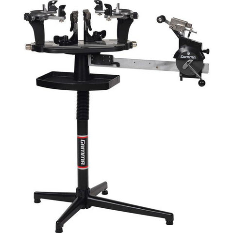 Gamma 5003 Stringing Machine with 6 Point Self Centering Mounting System - RacquetGuys.ca