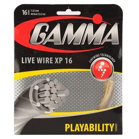 Gamma Live Wire XP 16 Tennis String (Natural) - RacquetGuys