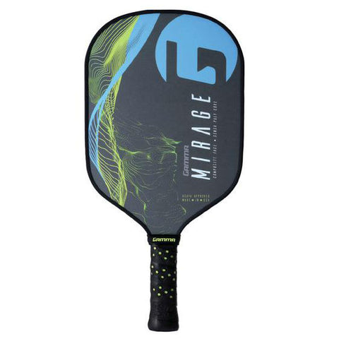 Gamma Mirage Sensa Core Pickleball Paddle (Blue) - RacquetGuys