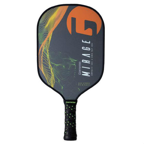 Gamma Mirage SensaCore Pickleball Paddle (Orange) - RacquetGuys