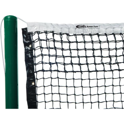 Gamma Super Tuff Tapered Tennis Net with Polyester Headband - RacquetGuys.ca