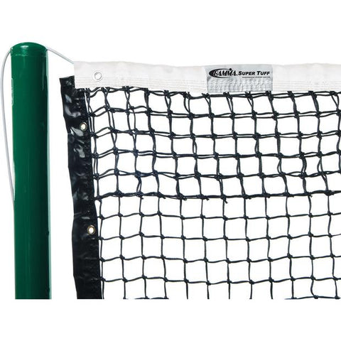 Gamma Super Tuff Tapered Tennis Net with Vinyl Headband