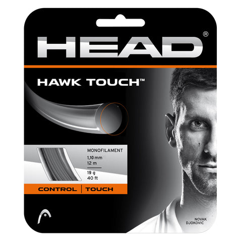 Head Hawk Touch 19 Tennis String (Anthracite) - RacquetGuys.ca