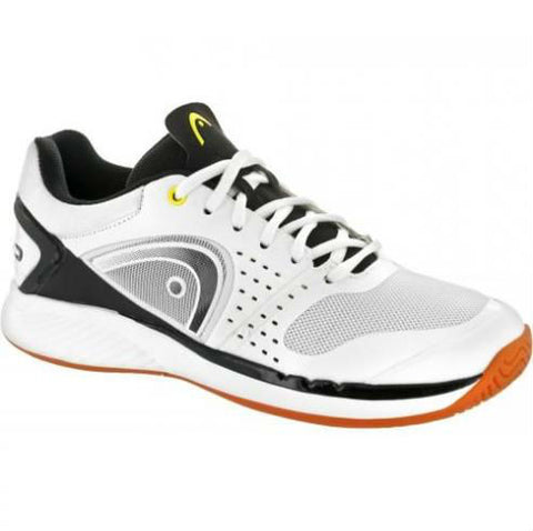 HEAD Sprint Pro Mens Indoor Court Shoe (White/Black) - RacquetGuys