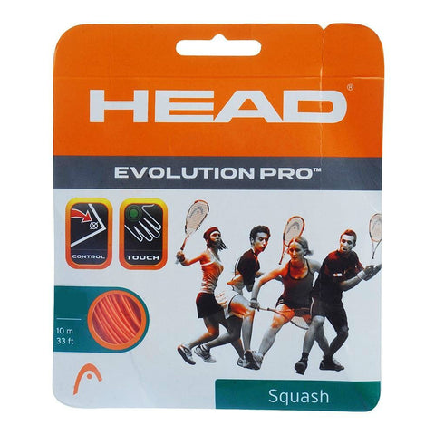 Head Evolution Pro 17 Squash String (Orange) - RacquetGuys