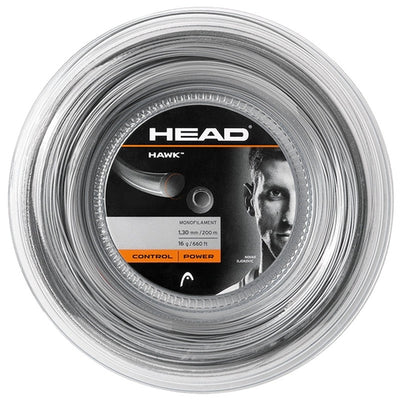 HEAD Hawk 16 Tennis String Reel (Grey)
