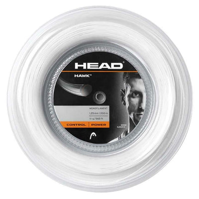 HEAD Hawk 16 Tennis String Reel (White)
