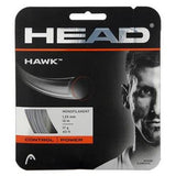 Head Hawk 17 Tennis String (Silver) - RacquetGuys