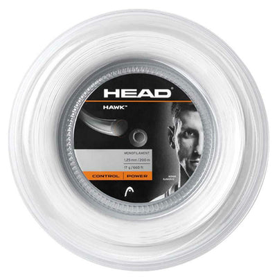 HEAD Hawk 17 Tennis String Reel (White)