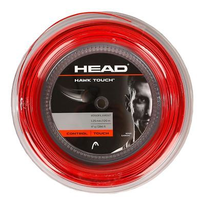 HEAD Hawk Touch 18 Tennis String Mini Reel (Red)