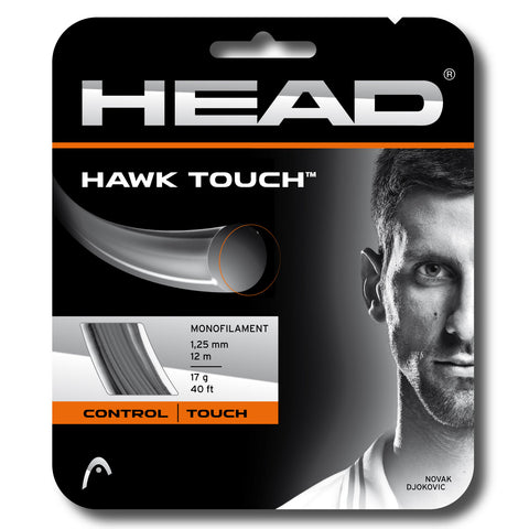 Head Hawk Touch 17 Tennis String (Anthracite)