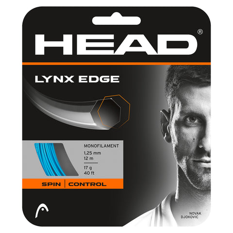 HEAD Lynx Edge 17 Tennis String (Blue) - RacquetGuys