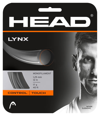 Head Lynx 17 Tennis String (Anthracite)