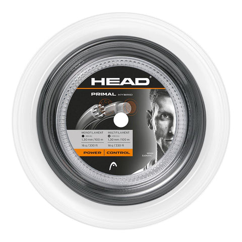 Head Primal 16 (Monofilament 16 / Multifilament 16) Hybrid Tennis String Reel - RacquetGuys.ca