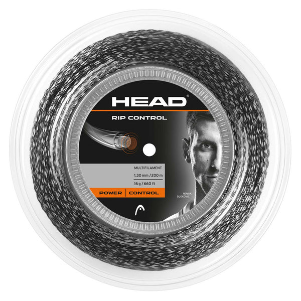 Head RIP Control 16 Tennis String Reel (Black) - RacquetGuys