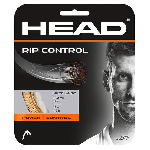 Head RIP Control 16 Tennis String (Natural) - RacquetGuys.ca