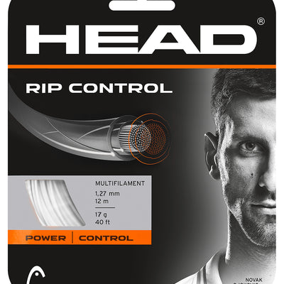 HEAD RIP Control 17 Tennis String (White)