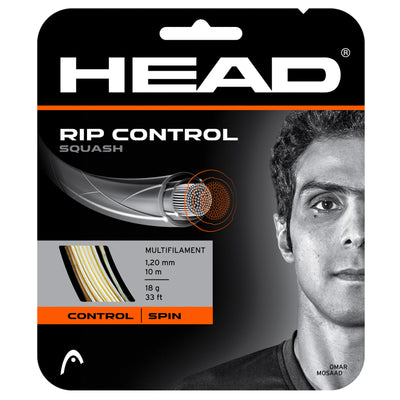 HEAD RIP Control 18 Squash String (White)