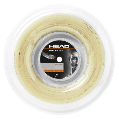 HEAD Reflex MLT 17 Tennis String Reel (Natural)