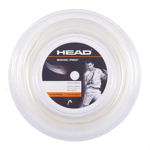 HEAD Sonic Pro 17 Tennis String Reel (White) - RacquetGuys