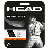 HEAD Sonic Pro 17 Tennis String (Black) - RacquetGuys