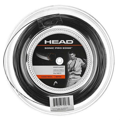 HEAD Sonic Pro Edge 16 Tennis String Reel (Anthracite)