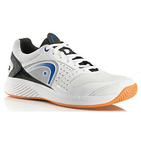 Head Sprint Team Men's Indoor Court Shoe (White/Blue/Black) - RacquetGuys