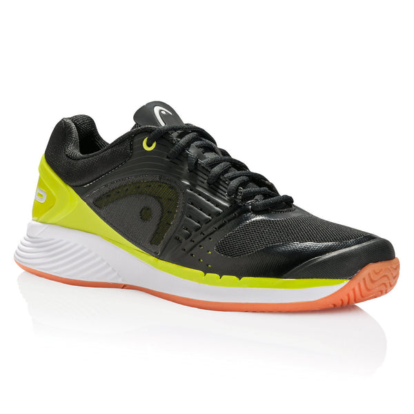 Head Sprint Pro Mens Indoor Court Shoe (Black/Lime) - RacquetGuys