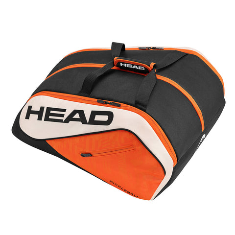 Head Tour Team Pickleball Supercombi Bag (Orange/Black) - RacquetGuys.ca