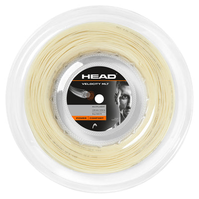 HEAD Velocity MLT 16 Tennis String Reel (Natural)