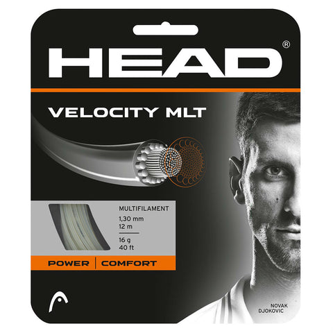 Head Velocity MLT 16 Tennis String (Natural) - RacquetGuys