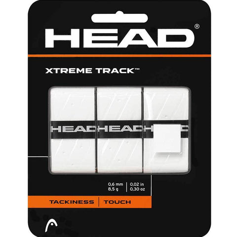 HEAD Xtreme Tack Overgrips 3 Pack (White)