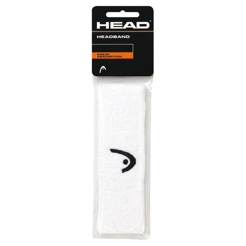 HEAD Headband (White) - RacquetGuys