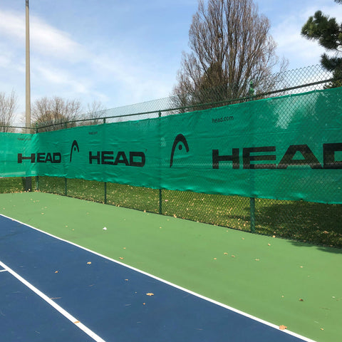 HEAD Logo Windscreen (6 x 60 ft.)