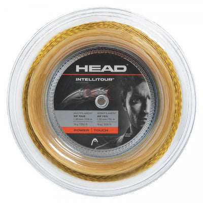 HEAD IntelliTour 16 Tennis String Reel (Yellow/Natural)