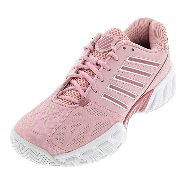 K-Swiss BigShot Light 3 Women's Tennis Shoe (Coral Blush/White) - RacquetGuys