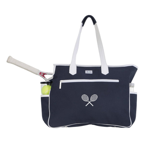 Ame & Lulu Kensington Crossed Court Racquet Bag