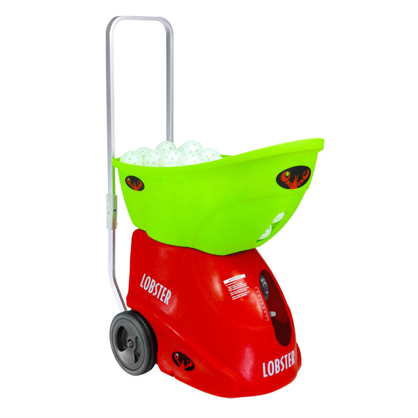 Lobster Pickleball Ball Machine in Green & Red
