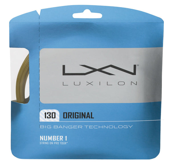 Luxilon Big Banger Original 16 Tennis String (Natural) - RacquetGuys