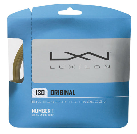 Luxilon Big Banger Original 16 Tennis String (Natural)