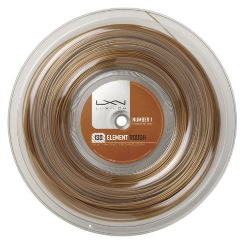 Luxilon Element 16 Tennis String Reel (Bronze) - RacquetGuys