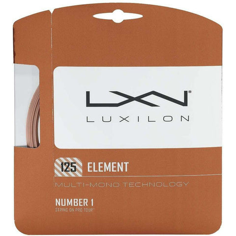 Luxilon Element 16L Tennis String (Bronze) - RacquetGuys