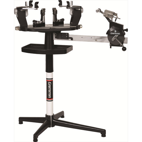 Gamma 6004 Stringing Machine with 6 Point SC Mounting System - RacquetGuys.ca