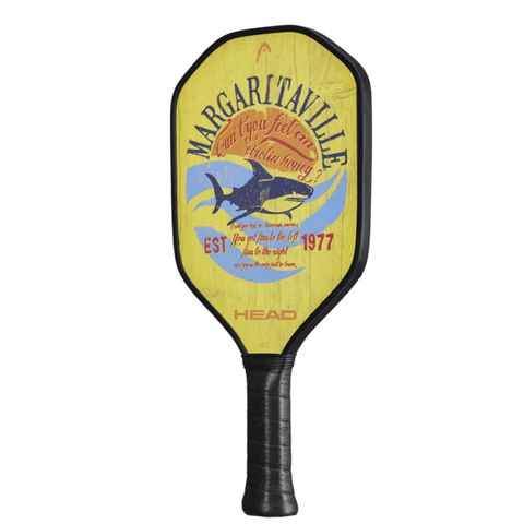 HEAD Margaritaville Fins Pickleball Paddle (Yellow) - RacquetGuys