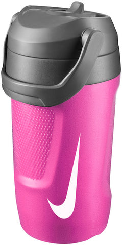 Nike Fuel Jug 64 oz. Water Bottle (Pink Pow/Anthracite/White) - RacquetGuys
