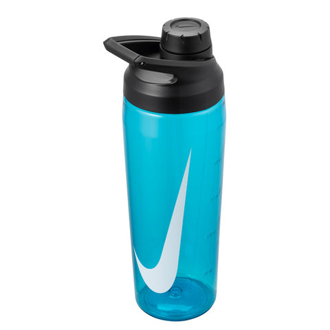 Nike Tr Hypercharge 24 oz. Water Bottle (Blue Fury/Anthracite/White) - RacquetGuys