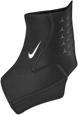 Nike Pro Ankle Sleeve 3.0 (Black/White) - RacquetGuys.ca